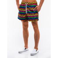 Мужские разноцветные короткие плавательные шорты Ombre  оригинал