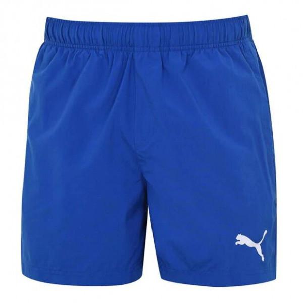 Мужские спортивные шорты голубые Puma 838271-85