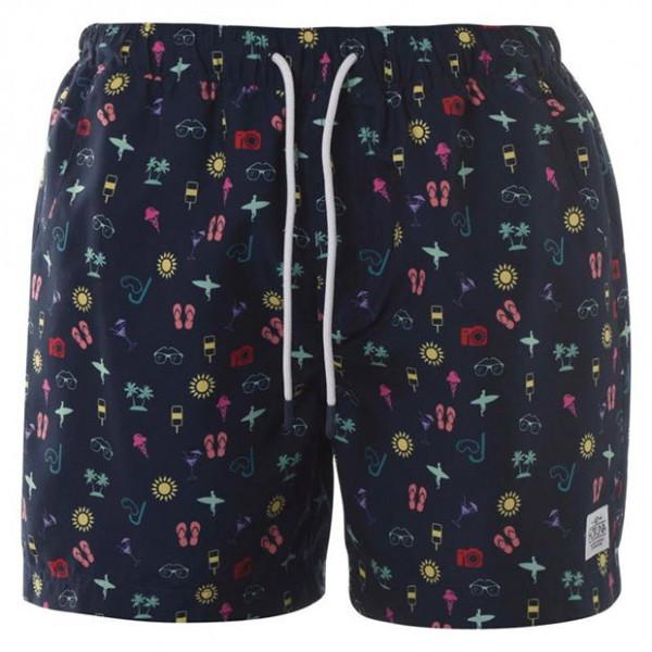Мужские плавательные шорты с принтом Hot Tuna