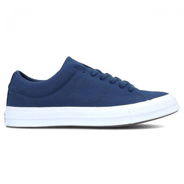 Кеды синие Converse One Star Ox 163368C