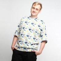 Хлопковая оверсайз футболка unisex Shopchik