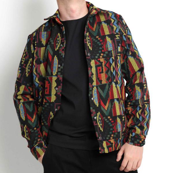 Молодежная этно куртка-рубашка Shopchik