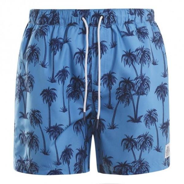 Мужские шорты плавки с пальмами Hot Tuna