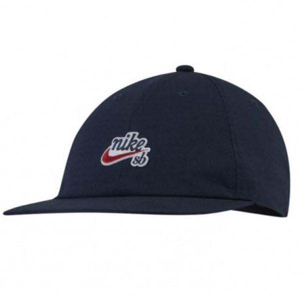 Кепка синяя Nike H86 Cap Flatbill AV7884-451