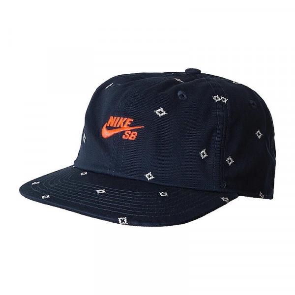 Кепка синяя Nike SB Printed Skate CK1775-451