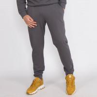 Мужские серые трикотажные штаны на манжетах Shopchik