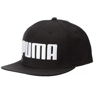 Кепка черная Puma Flatbrim 021460 01