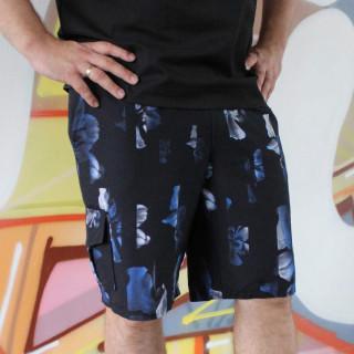 Стильные принтованные тонкие шорты Shopchik