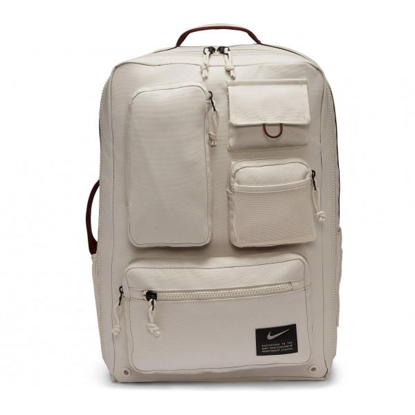 Большой светлый рюкзак Nike Utility Elite CK2656-104