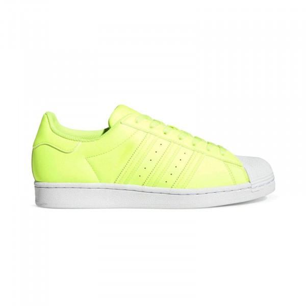 Кроссовки adidas Superstar FY2744 салатовые кожа